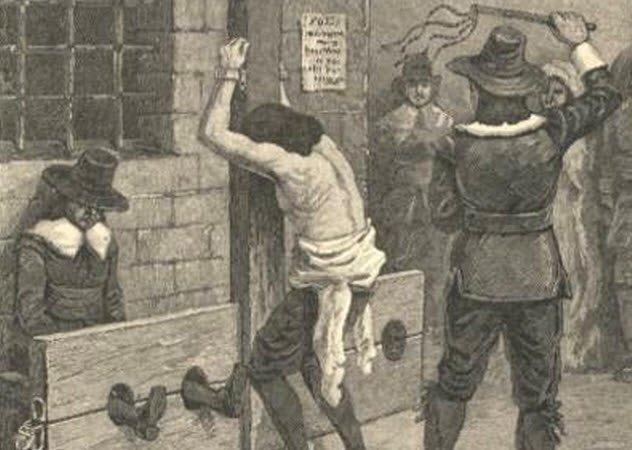 Жестко плетью наказывает рабыню видео вполне
